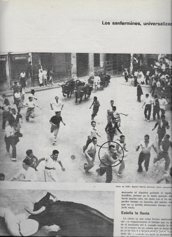 Coleccionismo de Revista Teleprograma: REVISTA TELE RADIO Nº 393, 5-11JULIO 1965 , TANIA VELIA, SAN FERMINES - Foto 2 - 193889435