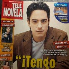 Coleccionismo de Revista Teleprograma: TELENOVELA - NUMERO 641 - 2005 - PASION DE GAVILANES - AMARTE ASI FRIJOLITO - MARLENE FAVELA - LITZY. Lote 194061515