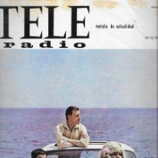 Coleccionismo de Revista Teleprograma: REVISTA TELE RADIO Nº 395, 19-25 JULIO 1965, LOS 3 SUDAMERICANOS,JOAQUIN RODRIGO PAGINAS INTERIORES. Lote 194071163