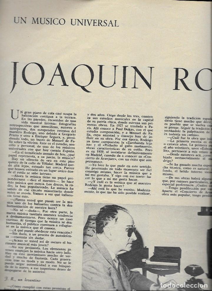 Coleccionismo de Revista Teleprograma: REVISTA TELE RADIO Nº 395, 19-25 JULIO 1965, LOS 3 SUDAMERICANOS,JOAQUIN RODRIGO PAGINAS INTERIORES - Foto 2 - 194071163