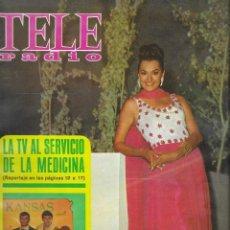 Coleccionismo de Revista Teleprograma: REVISTA TELE RADIO Nº 557, 26 AGOSTO - 7 SEPTIEMBRE 1968, MIKAELA, MASTRIANI EN PAGINAS INTERIORES. Lote 194178501