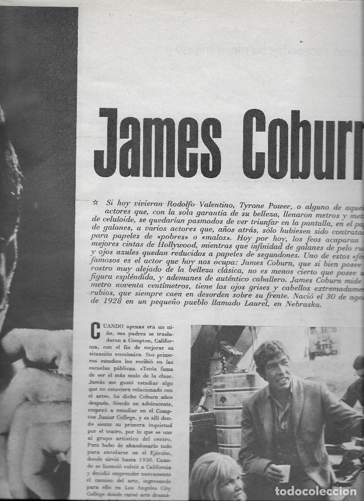 Coleccionismo de Revista Teleprograma: REVISTA TELE RADIO Nº 555, 12-18 AGOSTO 1968, LAURA VALENZUELA, JAMES COBURN, OLGA GUILLOT - Foto 2 - 194179321