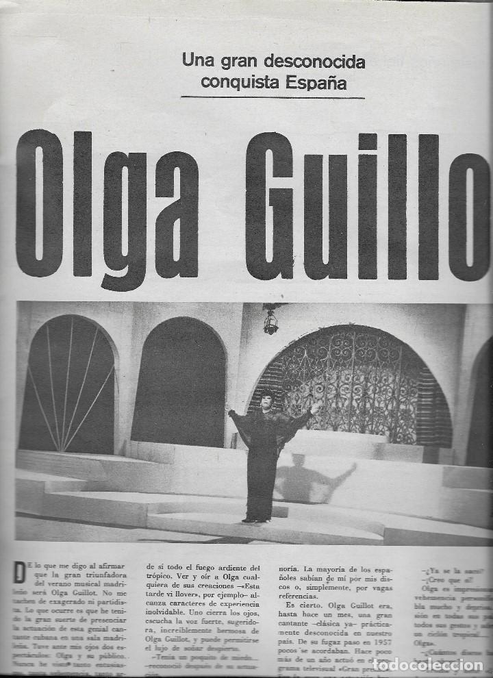 Coleccionismo de Revista Teleprograma: REVISTA TELE RADIO Nº 555, 12-18 AGOSTO 1968, LAURA VALENZUELA, JAMES COBURN, OLGA GUILLOT - Foto 3 - 194179321