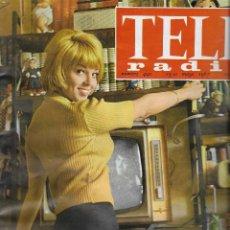 Coleccionismo de Revista Teleprograma: REVISTA TELE RADIO Nº 490, 15-21 MAYO 1967, TANIA VELIA, RITA PAVONE. Lote 194180188
