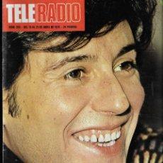 Coleccionismo de Revista Teleprograma: REVISTA TELE RADIO Nº 956 19-25 ABRIL 1976, MANOLO OTERO, VICTORIA ABRIL EN PAGINAS INTERIORES. Lote 194248723