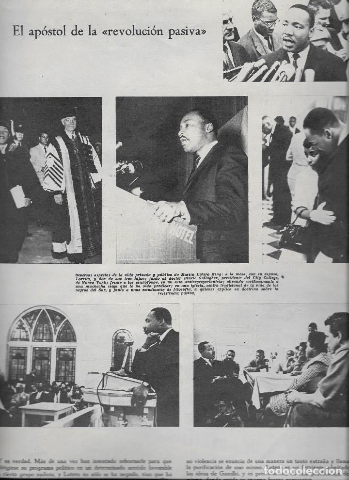 Coleccionismo de Revista Teleprograma: REVISTA TELE RADIO Nº 358, 2-8 NOVIEMBRE 1964, MARTIN LUTERO KING, GERALDINE CHAPLIN - Foto 2 - 194386668