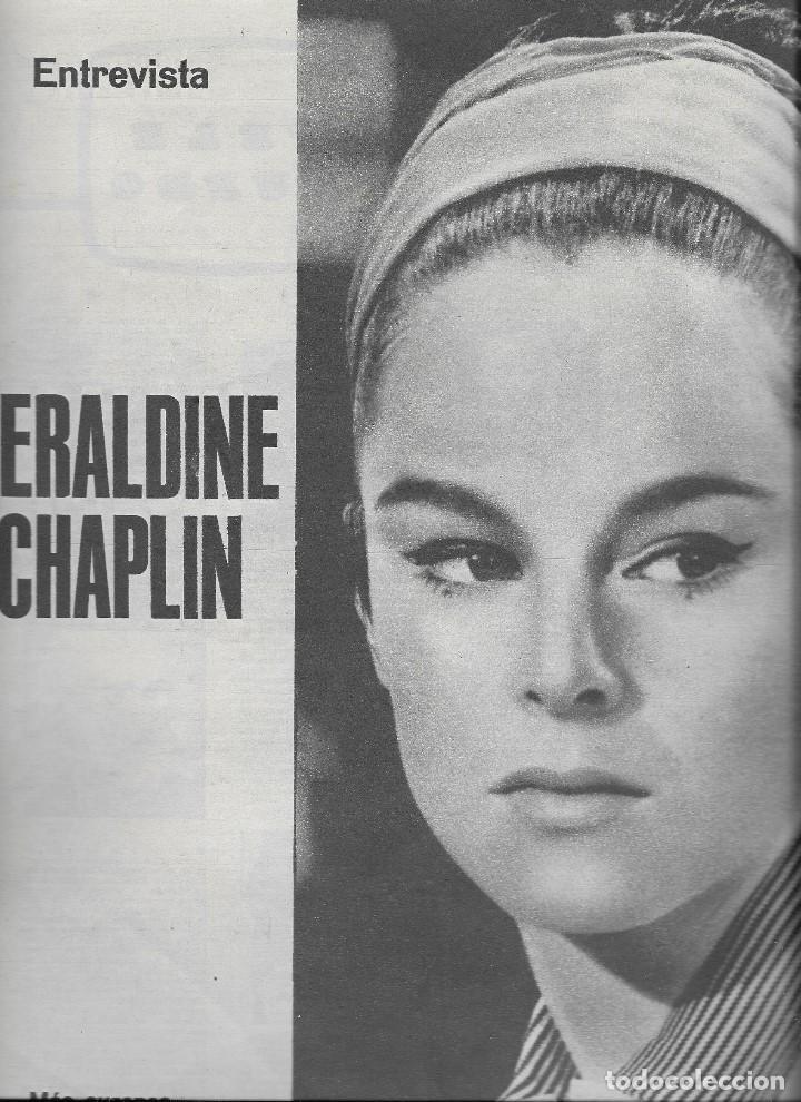 Coleccionismo de Revista Teleprograma: REVISTA TELE RADIO Nº 358, 2-8 NOVIEMBRE 1964, MARTIN LUTERO KING, GERALDINE CHAPLIN - Foto 3 - 194386668