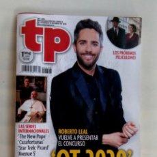 Coleccionismo de Revista Teleprograma: REVISTA TP TELEPROGRAMA 2806. OT, OPERACIÓN TRIUNFO 2020. Lote 194494350