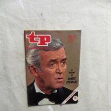 Coleccionismo de Revista Teleprograma: REVISTA TP TELEPROGRAMA Nº 366 DEL 22 AL 28 DE ENERO DE 1973 JAMES STEWART . Lote 194518478