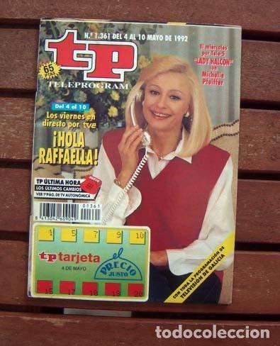 TP / TELEPROGRAMA / RAFFAELLA CARRA (Coleccionismo - Revistas y Periódicos Modernos (a partir de 1.940) - Revista TP ( Teleprograma ))