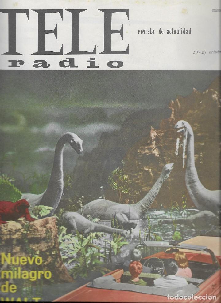 REVISTA TELE RADIO Nº356, 19-25 OCTUBRE 1964, WALT DISNEY, JEAN PAUL BELMONTO (Coleccionismo - Revistas y Periódicos Modernos (a partir de 1.940) - Revista TP ( Teleprograma ))