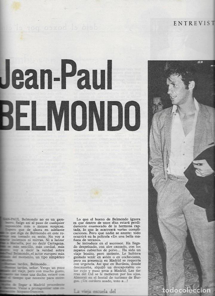 Coleccionismo de Revista Teleprograma: REVISTA TELE RADIO Nº356, 19-25 OCTUBRE 1964, WALT DISNEY, JEAN PAUL BELMONTO - Foto 2 - 194548772