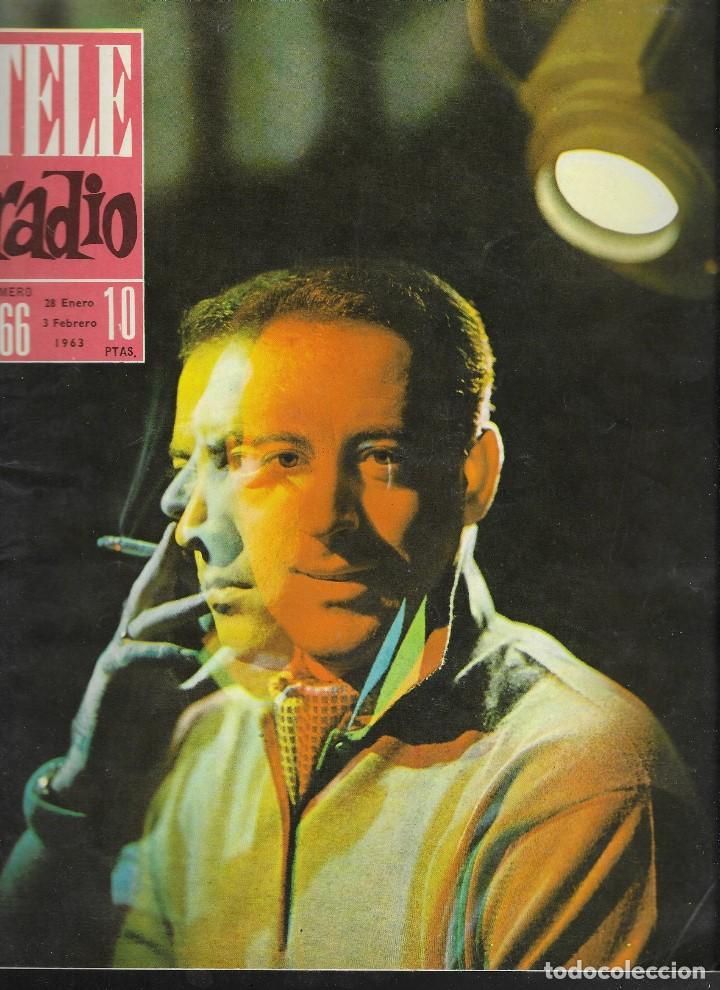 REVISTA TELE RADIO Nº 266, 28 ENERO - 3 FEBRERO 1963, IGNACIO DE PAUL, MARIA ASQUERINO (Coleccionismo - Revistas y Periódicos Modernos (a partir de 1.940) - Revista TP ( Teleprograma ))