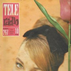 Coleccionismo de Revista Teleprograma: REVISTA TELE RADIO Nº 267, 4-10 FEBRERO 1963, PALOMA VALDÉS, JULIA GUTIERREZ CABA. Lote 194555805