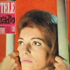 Coleccionismo de Revista Teleprograma: REVISTA TELE RADIO Nº 269, 18-24 FEBRERO 1963, PAULA MARTEL, FESTIVAL DE SAN REMO.. Lote 194556195