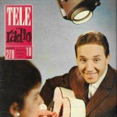 Coleccionismo de Revista Teleprograma: REVISTA TELE RADIO Nº 270, 25 FEB - 3 MARZO 1963, TORREBRUNO, SOFIA LOREN PAGINAS INTERIORES. Lote 194557073