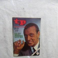 Coleccionismo de Revista Teleprograma: REVISTA TP TELEPROGRAMA Nº 265 DEL 3 AL 9 DE MAYO DE 1971 GARY COOPER . Lote 194617660