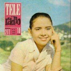 Coleccionismo de Revista Teleprograma: REVISTA TELE RADIO Nº 277, 15-21 ABRIL 1963,MALENI CASTRO, EL DEPORTE ANTE LAS CAMARAS. Lote 194638632