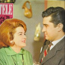 Coleccionismo de Revista Teleprograma: REVISTA TELE RADIO Nº 281, 13-19 MAYO 1963, ASUNCION VILLAMIL Y PABLO SANZ. Lote 194690126