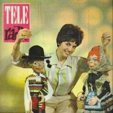 Coleccionismo de Revista Teleprograma: REVISTA TELE RADIO Nº 282, 20-26 MAYO 1963, TERE RAMON Y KARYNA EN PAGINAS INTERIORES. Lote 194690442