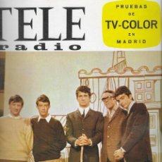 Coleccionismo de Revista Teleprograma: REVISTA TELE RADIO Nº 414, 29 NOVIEMBRE- 5 DICIEMBRE 1965, LOS SIREX, CASSEN PAGINAS INTERIORES. Lote 194691701