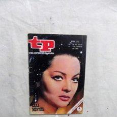 Coleccionismo de Revista Teleprograma: REVISTA TP TELEPROGRAMA Nº 173 DEL 28 DE JULIO AL 3 DE AGOSTO DE 1969 SARA MONTIEL . Lote 194714332