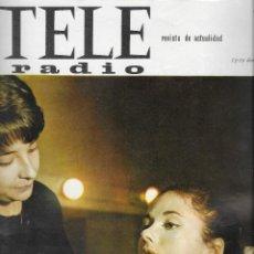 Coleccionismo de Revista Teleprograma: REVISTA TELE RADIO Nº 416, 13-19 DIC 1965, GIGLIOLA CINQUETTI, EMBRUJADA,JULIE CHRISTIE, URIBARRI. Lote 194939353