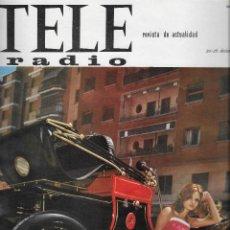Coleccionismo de Revista Teleprograma: REVISTA TELE RADIO Nº 417, 13-19 DIC 1965, SOLEDAD MIRANDA, LOLA FLORES, NURIA CARRESI. Lote 194939633