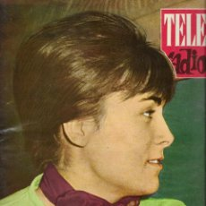 Coleccionismo de Revista Teleprograma: REVISTA TELE RADIO Nº 246, 10-16 SEPTIEMBRE 1962, LOLA CARDONA, ANTOÑITA OYAMBURU. Lote 194940606