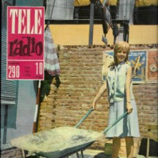 Coleccionismo de Revista Teleprograma: REVISTA TELE RADIO Nº 290, 15-21 JULIO 1963, SANDRA LE BROCQ, BAHAMONTES. Lote 194966907