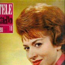 Coleccionismo de Revista Teleprograma: REVISTA TELE RADIO Nº 298, 9-15 SEPTIEMBRE 1963, ANA MARIA OLARIA, LA COSTA BRAVA. Lote 194993065