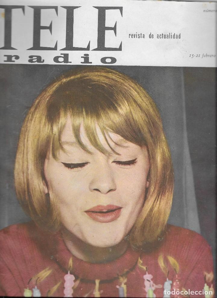 REVISTA TELE RADIO Nº 373, 15-21 FEBRERO 1965, MARISOL, CONCHITA BAUTISTA (Coleccionismo - Revistas y Periódicos Modernos (a partir de 1.940) - Revista TP ( Teleprograma ))