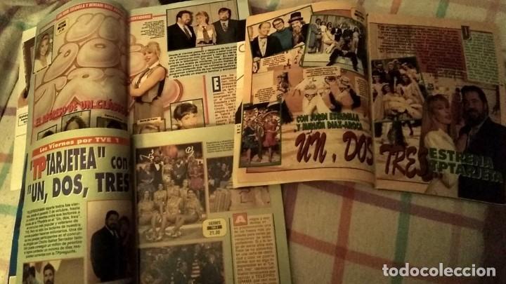 Coleccionismo de Revista Teleprograma: LOTE 3 REVISTAS TP TELEPROGRAMA UN DOS TRES RESPONDA OTRA VEZ AÑOS 1991, 1992, 1993 - Foto 2 - 195240683