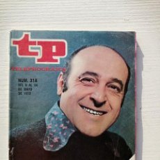 Coleccionismo de Revista Teleprograma: TELEPROGRAMA TP 318 JESÚS PUENTE MAYO 1972 MATEO. Lote 195462621