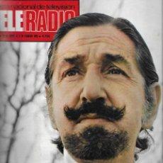 Coleccionismo de Revista Teleprograma: REVISTA TELE RADIO Nº 788, DON JAIME, MONTGOMERY CLIFT, TERESA RABAL EN PAGINAS INTERIORES. Lote 196448773