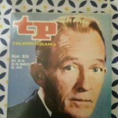 Colecionismo da Revista Teleprograma: REVISTA TP TELEGRAMA NUMERO 624 BING CROSBY AÑO 1978. Lote 196556283