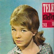 Coleccionismo de Revista Teleprograma: REVISTA TELE RADIO Nº 248, CONCHITA GOYANES, BING CROSBY EN PAGINAS INTERIORES. Lote 196565194