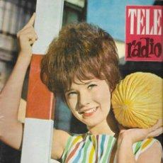 Coleccionismo de Revista Teleprograma: REVISTA TELE RADIO Nº 249, BONNIE, CONCHITA VELASCO EN PAGINAS INTERIORES. Lote 196565418