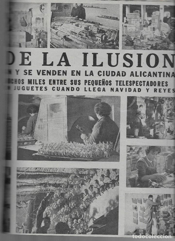 Coleccionismo de Revista Teleprograma: REVISTA TELE RADIO Nº 257, ESPARTACO SANTONI, IBI LA CUIDAD DEL JUGUETE EN PAGINAS INTERIORES, - Foto 2 - 196748150