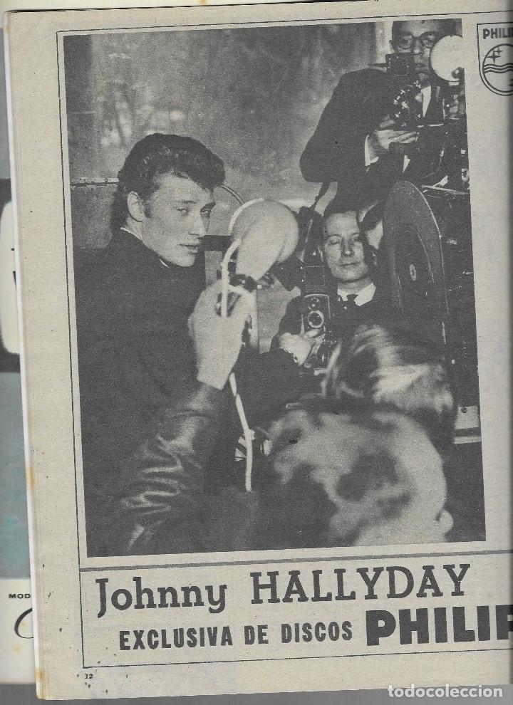 Coleccionismo de Revista Teleprograma: REVISTA TELE RADIO Nº 260, NURIA TORRAY, MARLENE DIETRICH, JOHNNY HALLYDAY EN PAGINAS INTERIORES, - Foto 3 - 196750551