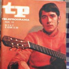 Coleccionismo de Revista Teleprograma: REVISTA TP TELEPROGRAMA N°133,JOAN MANUEL SERRAT. Lote 197182766