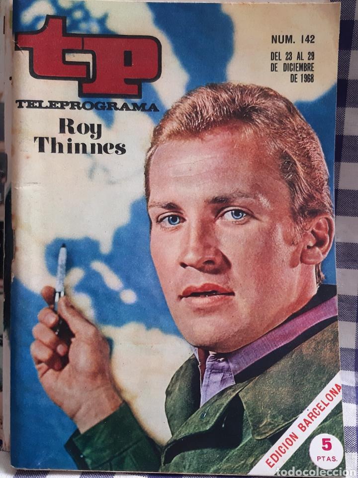 REVISTA TP TELEPROGRAMA N°142 ROY THINNES (Coleccionismo - Revistas y Periódicos Modernos (a partir de 1.940) - Revista TP ( Teleprograma ))
