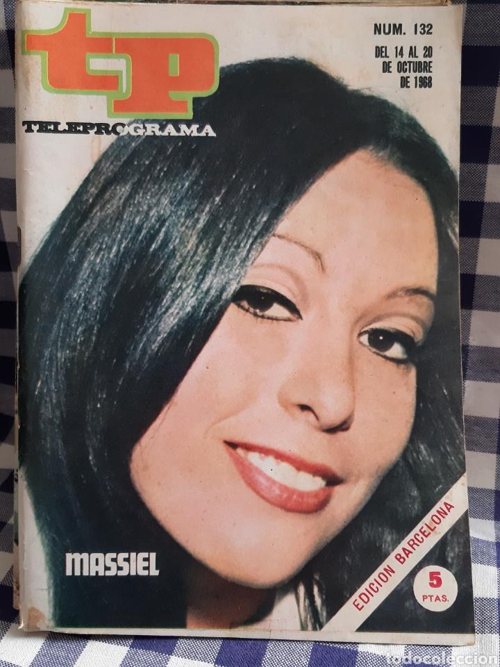REVISTA TP TELEPROGRAMA N°132,MASSIEL (Coleccionismo - Revistas y Periódicos Modernos (a partir de 1.940) - Revista TP ( Teleprograma ))