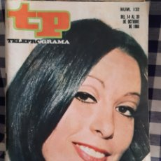 Coleccionismo de Revista Teleprograma: REVISTA TP TELEPROGRAMA N°132,MASSIEL. Lote 197183255