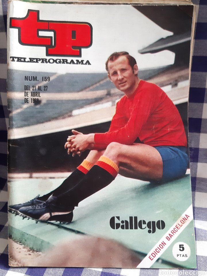 REVISTA TP TELEPROGRAMA N°159 GALLEGO (Coleccionismo - Revistas y Periódicos Modernos (a partir de 1.940) - Revista TP ( Teleprograma ))