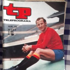 Coleccionismo de Revista Teleprograma: REVISTA TP TELEPROGRAMA N°159 GALLEGO. Lote 197183416