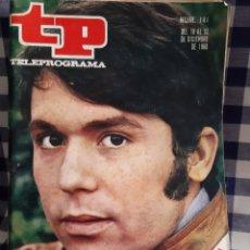 Coleccionismo de Revista Teleprograma: REVISTA TP TELEPROGRAMA N°141 RAPHAEL. Lote 197183588