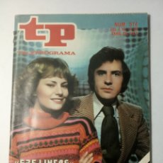 Coleccionismo de Revista Teleprograma: REVISTA TP TELEPROGRAMA NUMERO 575 625 LINEAS AÑO 1977. Lote 197768097