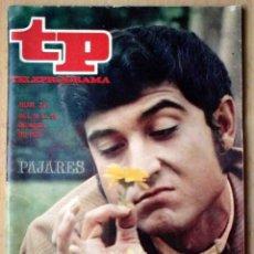 Coleccionismo de Revista Teleprograma: TP TELEPROGRAMA Nº 211 ABRIL DE 1970 - ANDRÉS PAJARES PAJAREANDO.. Lote 199081608