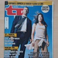 Coleccionismo de Revista Teleprograma: TELEPROGRAMA Nº 2055 PERDIDOS, LOST, EVANGELINE LILY, MATTHEW FOX (2005). Lote 199700832